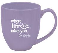 Where Life Takes You Flip Flops Mug