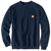 Carhartt Men's Big & Tall Crewneck Pocket Sweatshirt