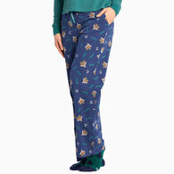 Life is Good Women's Cabin Landscape Snuggle Up Sleep Pant