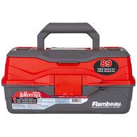 Flambeau Adventurer 1-Tray 89-Piece Tackle Box Kit