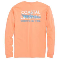 Southern Tide Men's Fishing Boat Long-Sleeve Shirt