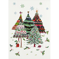 Peter Pauper Press Merry Evergreens Small Boxed Holiday Cards