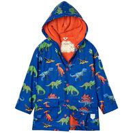 Hatley Boy's Friendly Dinos Raincoat