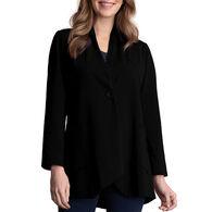 Habitat Women's Button Shawl Collar Jacket