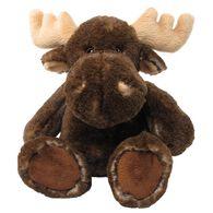 "Wishpets 10"" Stuffed SuperSoft Sitting Mottled Moose"