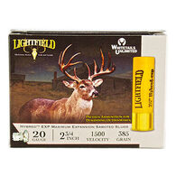 "Lightfield Hybred Exp 20 GA 2-3/4"" 7/8 oz. Slug Ammo (5)"