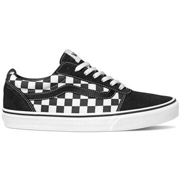 Vans Mens Ward Checkerboard Suede Canvas Sneaker