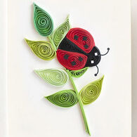 Quilling Card Ladybug Gift Enclosure Card