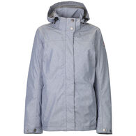 Killtec Women's Lenera Hooded Rain Jacket