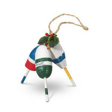 Cape Shore Lobster Buoys Ornament