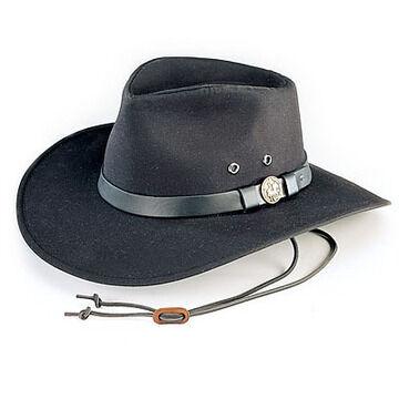 Outback Trading Mens Kodiak Oilcloth Hat