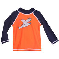 Flap Happy Toddler Boy's Graphic Long-Sleeve Rashguard Top