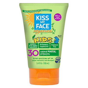 Kiss My Face Organics Kids Mineral SPF 30 Sunscreen
