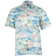 Salt Life Men's Boat Life Woven Short-Sleeve Shirt