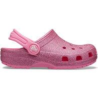 Crocs Boys & Girls' Classic Glitter Clog