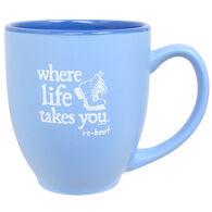 Where Life Takes You Boot Mug