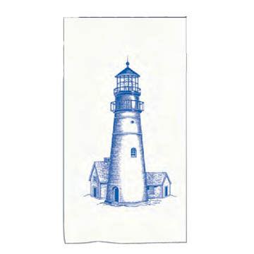 Kay Dee Designs Lighthouse Maine Dish Towel