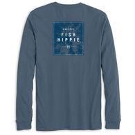 Fish Hippie Men's Palmshade Long-Sleeve T-Shirt