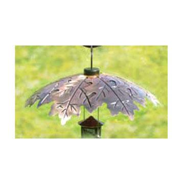 """Audubon Woodlink 18"""" Brushed Copper Weather Shield Baffle"""