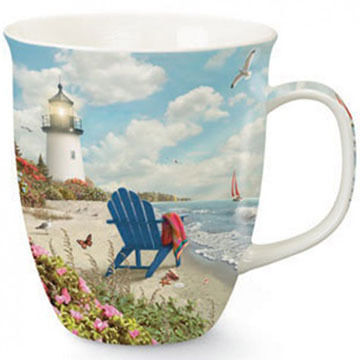 Cape Shore Maine Rays of Hope II Harbor Mug