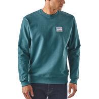 Patagonia Men's Shop Sticker Patch Uprisal Crew Sweatshirt