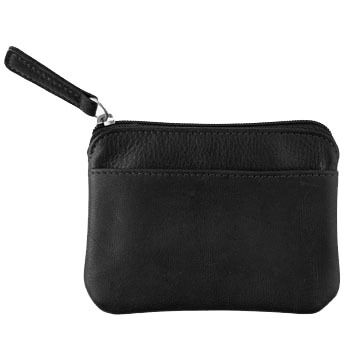 Osgoode Marley Cashmere Leather Zip-Top Wallet
