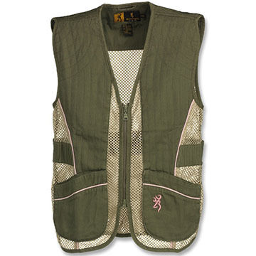 Browning Women's Trapper Creek Mesh Shooting Vest For Her