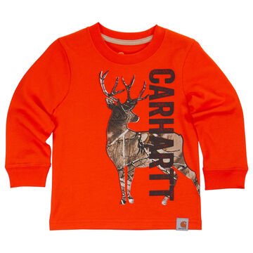 Carhartt Infant/Toddler Boys' Carhartt Deer Camo Long-Sleeve T-Shirt
