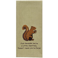 Park Designs Squirrel Embroidered Dishtowel