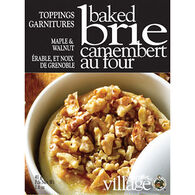 Gourmet Du Village Brie Topping - Maple Walnut