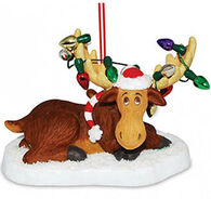 Cape Shore Moose Antler Lights Ornament