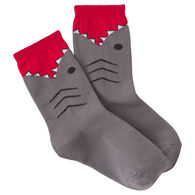 K. Bell Youth Shark Crew Sock