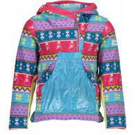 Obermeyer Girl's Aiya Half-Zip Fleece Pullover