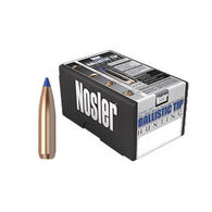 "Nosler Ballistic Tip 25 Cal. 115 Grain .257"" Spitzer Point / Blue Tip Rifle Bullet (50)"