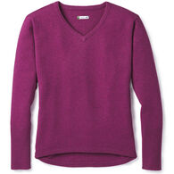 SmartWool Women's Shadow Pine V-Neck Sweater