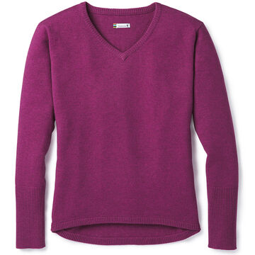 SmartWool Womens Shadow Pine V-Neck Sweater