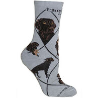 Wheel House Designs Chocolate Lab Sock