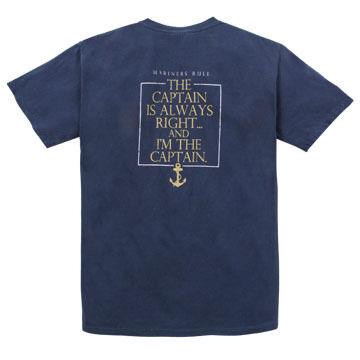 Artforms Mens Mariners Rule Short-Sleeve T-Shirt