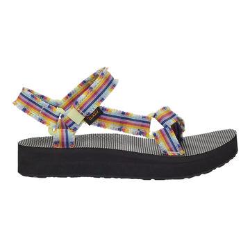 Teva Womens Midform Fray Sandal