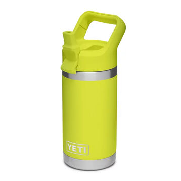 YETI Childrens Rambler Jr. 12 oz. Stainless Steel Vacuum Insulated Bottle w/ Straw Cap