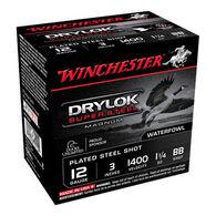 "Winchester DryLock Super Steel Magnum 12 GA 3"" 1-1/4 oz. BB Shotshell Ammo (25)"