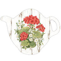 Keller Charles Geranium Teabag Holder