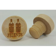 KitchenHappy WineO Friends Wine Stopper