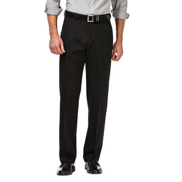 Haggar Mens Premium No-Iron Khaki Pant