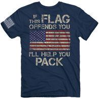 Buck Wear Men's Pack It Short-Sleeve T-Shirt