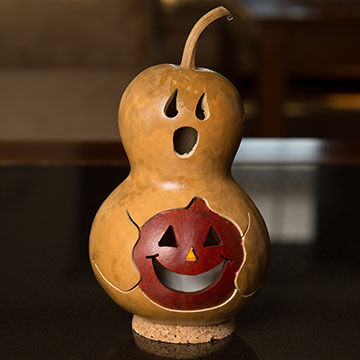 Meadowbrooke Gourds Spooky Boo Miniature Gourd