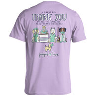 Puppie Love Women's Healthcare Thank You Pup Short-Sleeve T-Shirt