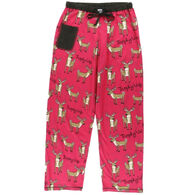 Lazy One Women's Trophy Wife Deer PJ Pant