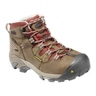 Keen Women's Detroit Waterproof Steel Toe Mid Cut Boot