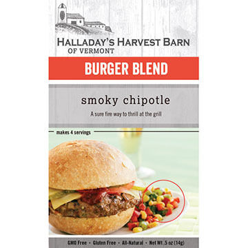 Halladay's Harvest Barn Smoky Chipotle Burger Mix